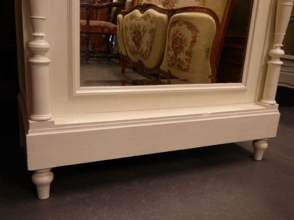 Antique French Armoire / Bookcase - French Wardrobe - pw91 - RESERVED